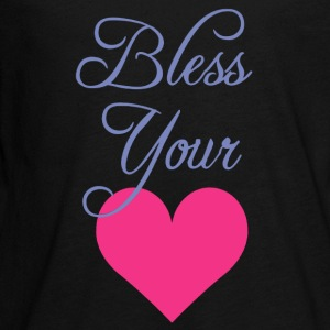 Bless Your Heart Shirt - Kids' Premium Long Sleeve T-Shirt
