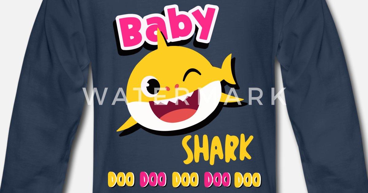 e251df93 Baby shark doo doo shirt toddlers outfit girl Kids' Premium Longsleeve Shirt  | Spreadshirt