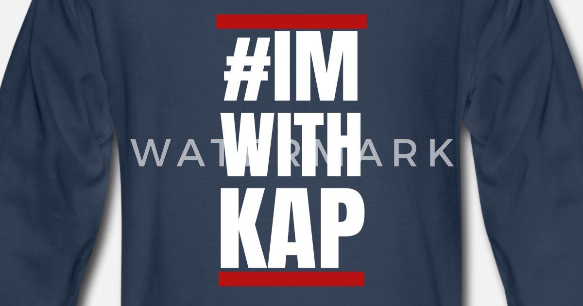 cc15880c6 Colin Kaepernick Im With Kap #IMWITHKAP BLM Pride Kids' Premium Longsleeve  Shirt | Spreadshirt