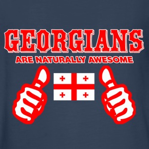 GEORGIANS flag design - Kids' Premium Long Sleeve T-Shirt