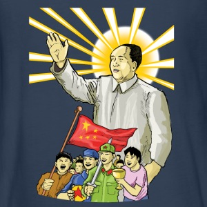 Mao Waves to the People - Kids' Premium Long Sleeve T-Shirt