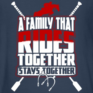 A Family That Rides Together Stays Together TShirt - Kids' Premium Long Sleeve T-Shirt