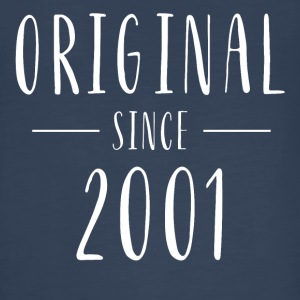 Original since 2001 distressed - Born in 2001 - Kids' Premium Long Sleeve T-Shirt