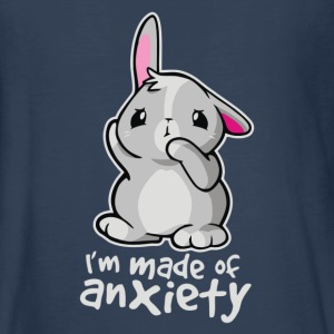 Rabbit Anxiety Cyber System - Kids' Premium Long Sleeve T-Shirt