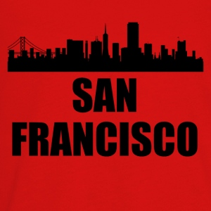 San Francisco CA Skyline - Kids' Premium Long Sleeve T-Shirt