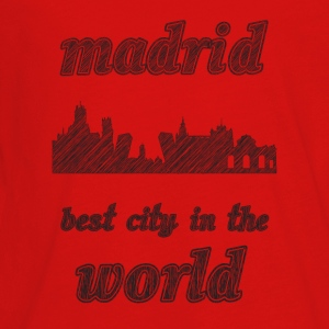 mADRID Best city in the world - Kids' Premium Long Sleeve T-Shirt