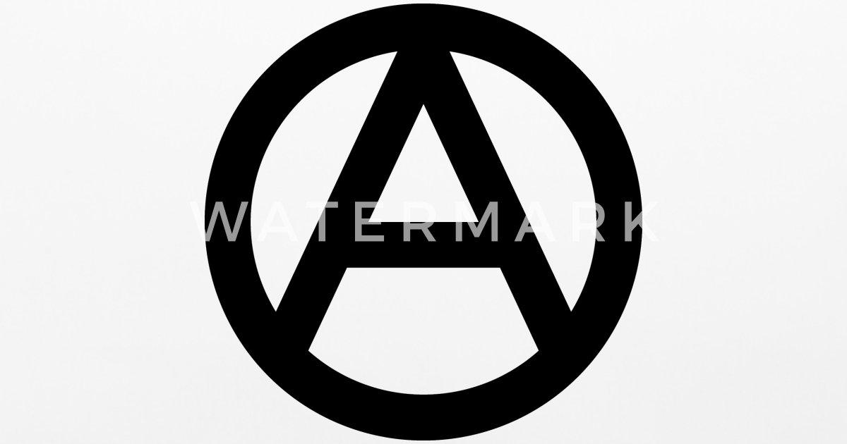 The Anarchy A Symbol Anarchy Anarchist Logo Black By Dimkadnb