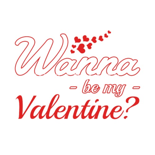 Wanna Be My Valentine Pillowcase Spreadshirt