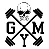 Gym Skull Dumbbell Barbell Weight Athletics 1c - Men's Premium Tank