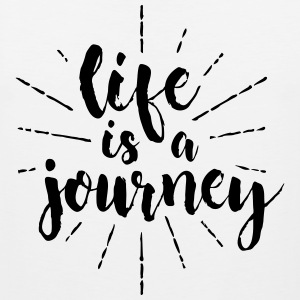 life is a journey - Men's Premium Tank