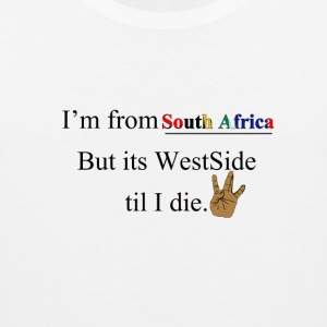 WEST SIDE SOUTH AFRICA - Men's Premium Tank