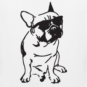 French Bulldog Attitude - Men's Premium Tank