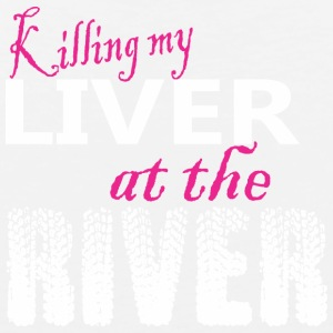 Killing My Liver At The River - Men's Premium Tank