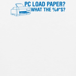Pc Load Paper - Men's Premium Tank