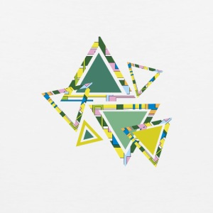 abstract triangles - Men's Premium Tank