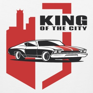 Muscle Car - the king - Men's Premium Tank