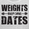 Weights Before Dates - Men's Premium Tank