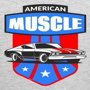 American Muscle Car - Men's Premium Tank