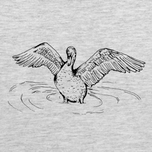 Swan Song- By Stasha Eriksen - Men's Premium Tank