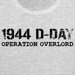 1944 D-Day Operation Overlord (Black) - Men's Premium Tank