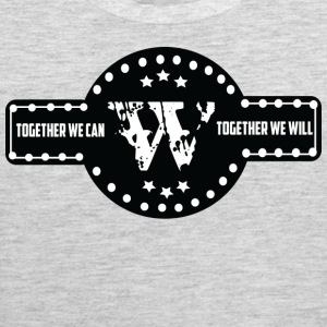 TOGETHER WE CAN T SHIRT - Men's Premium Tank