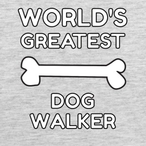worlds greatest dog walker - Men's Premium Tank