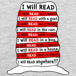 I WILL READ ANYWHERE KIDS - Men's Premium Tank