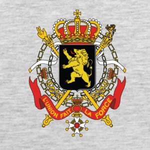National Coat Of Arms Of Belgium - Men's Premium Tank