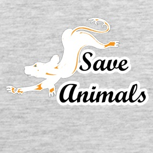 save animals - Men's Premium Tank