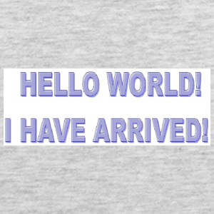 Hello World - Men's Premium Tank