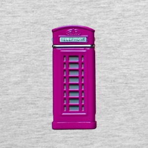 phone booth purple - Men's Premium Tank