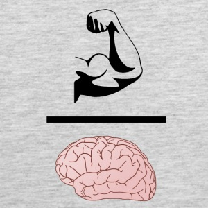 Gains Over Brains - Men's Premium Tank