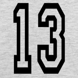 Lucky number 13. - Men's Premium Tank