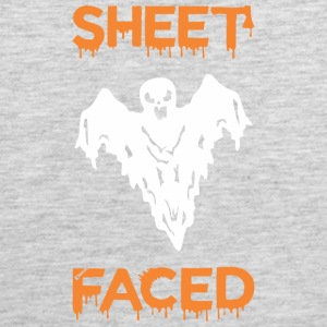 Sheet Faced Boo Halloween - Men's Premium Tank