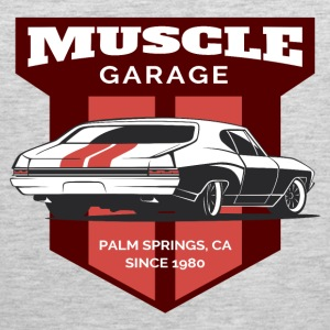 Garage Muscle Car - Men's Premium Tank