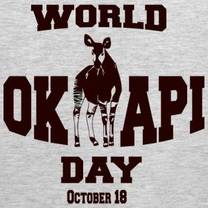 World Okapi Day Celebration Fundraiser - Men's Premium Tank