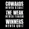 Winners Never Quit - Men's Premium Tank