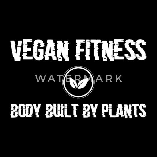 Vegan Fitness Workout Quote Present Men S Premium Tank Top Spreadshirt
