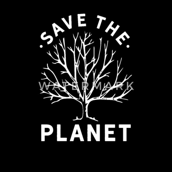 Save The Planet Climate Change Men's Premium Tank Top