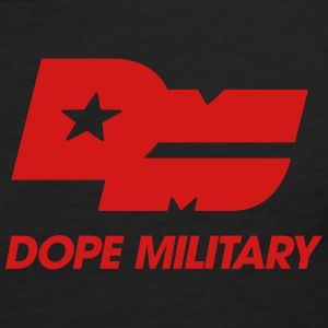 DOPE MILITARY LOGO BLK CLEAN - Men's Premium Tank