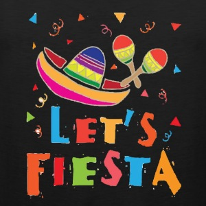 Funny Mexico T Shirt Fiesta Mexican Party - Men's Premium Tank
