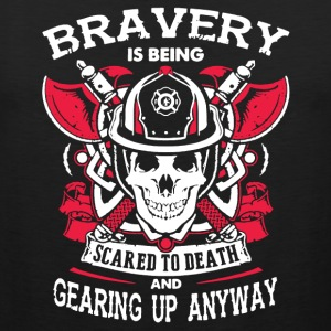 Love The Bravery Firefighter Shirt - Men's Premium Tank
