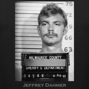Jeffrey Dahmer Serial Killer Mugshot - Men's Premium Tank