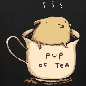 Pup of Tea - Men's Premium Tank