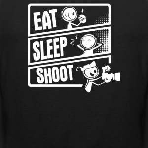 Eat Sleep Shoot - Men's Premium Tank