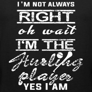 I'm The Hurling Player Yes I Am T Shirt - Men's Premium Tank
