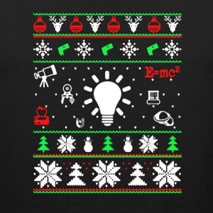 Physics Christmas Shirt - Men's Premium Tank