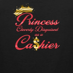 Princess Cleverly Disguised as a Cashier Retail - Men's Premium Tank