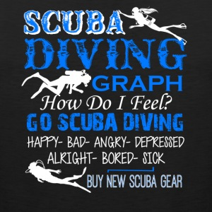 Scuba Diving Shirt - Men's Premium Tank