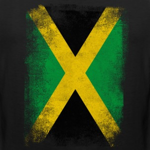 Jamaica Flag Proud Jamaican Vintage Distressed - Men's Premium Tank
